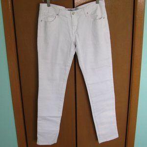 White U-51 Authenticate Denim Skinny Jeans